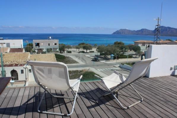Son Serra de Marina II - Modernes Haus mit Meerblick und nur 5 Gehminuten zum Traumstrand!