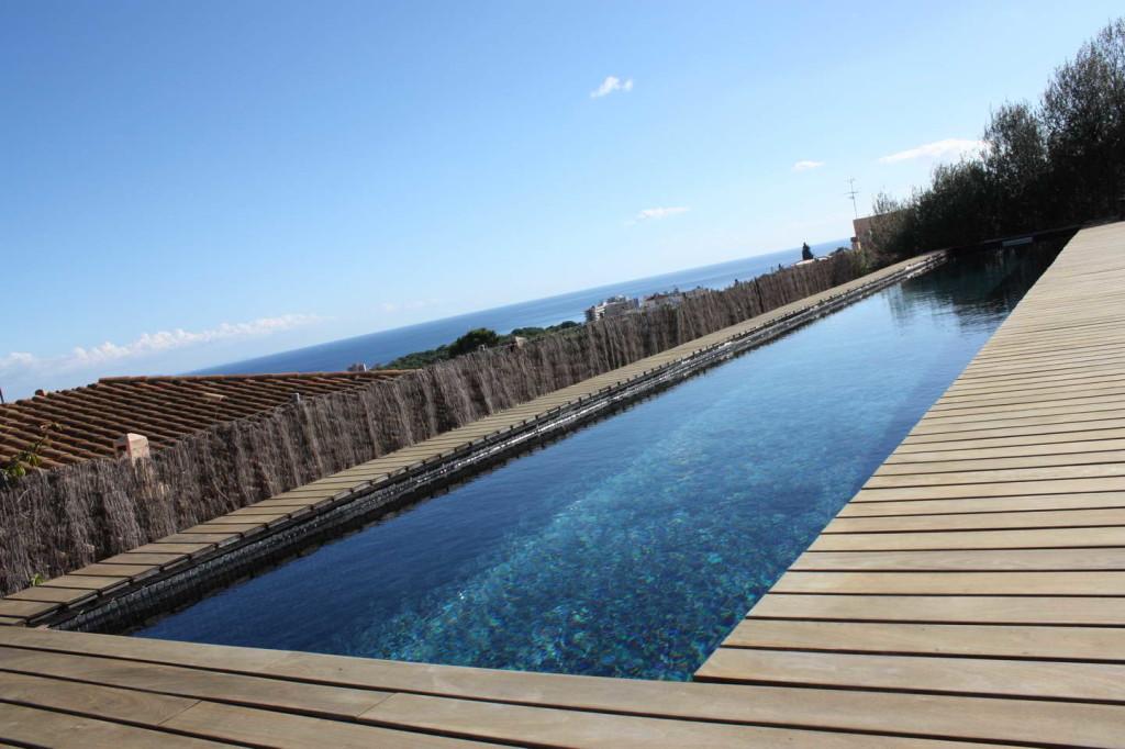 Modernes Haus in Palma-Genova mit Pool und Meerblick!