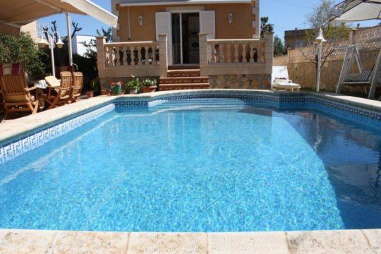 Strandnahes Ferienhaus mit privatem Pool im Südwesten Mallorcas