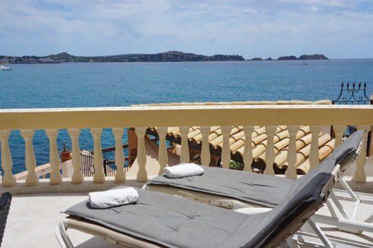 Bezaubernde Meerblickwohnung im mediterranen Stil in Anlage mit Gemeinschaftspool und Meerzugang!